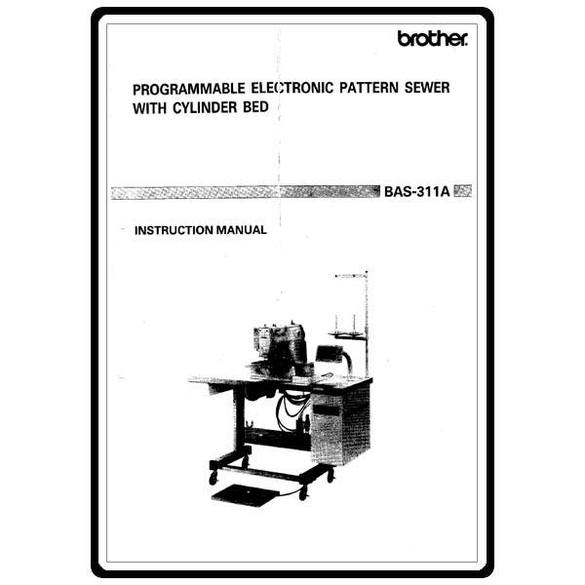 Instruction Manual, Brother BAS-311A