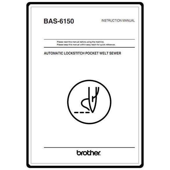 Instruction Manual, Brother BAS-6150