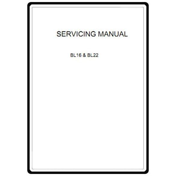Service Manual, Babylock BL22 Deisgn Pro