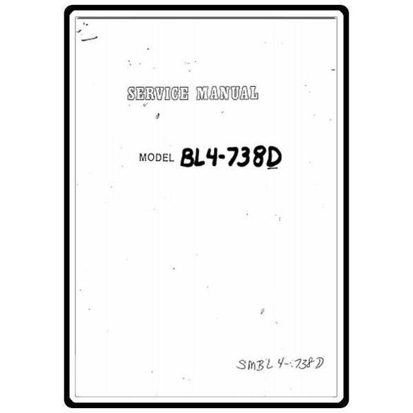 Service Manual, Babylock BL4-738D