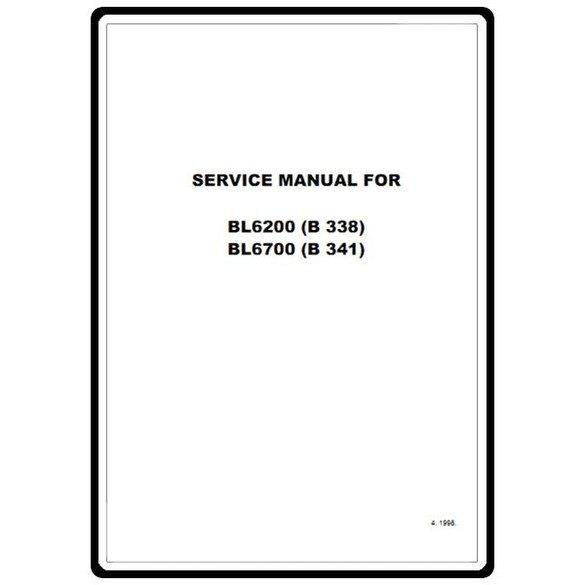 Service Manual, Babylock BL6200