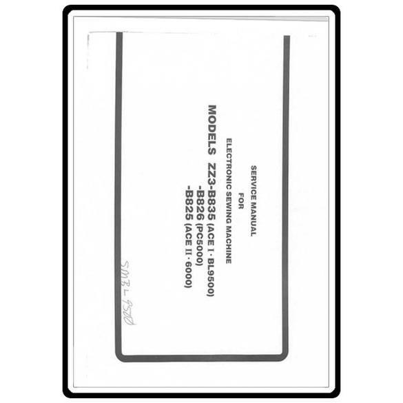 Service Manual, Babylock BL9500