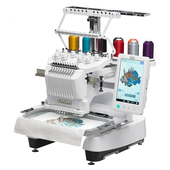 Babylock BMV10 Valiant (BMV10-ENT) Embroidery Machine and Table