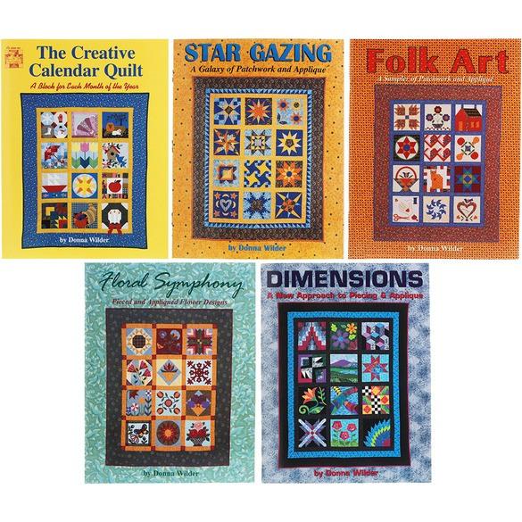 Donna Wilder 5-Piece Quilt Book Set