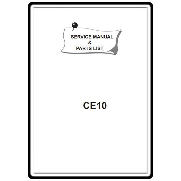 Service Manual, Elna CE10