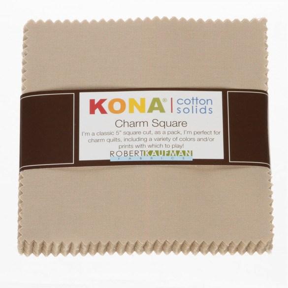 Robert Kaufman, Kona Solids 5in Fabric Squares (42 pcs)
