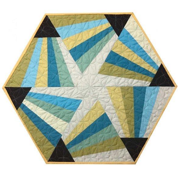 Magic Triangle Table Topper Pattern - Cut Loose Press