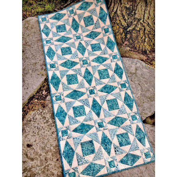Storm on the Lake Table Runner Pattern