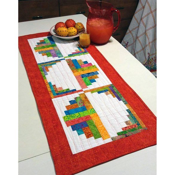 Citrus and Berry Table Runner Pattern