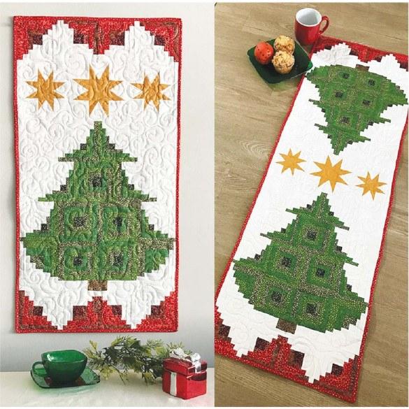 Pine Tree Banner or Table Runner Pattern