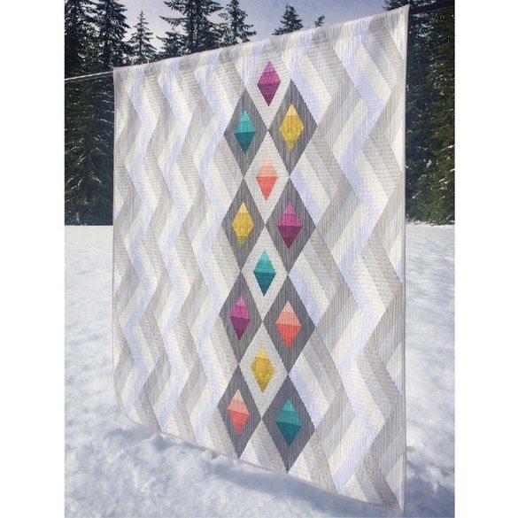 Woven Jewel Box Quilt Pattern - Cut Loose Press