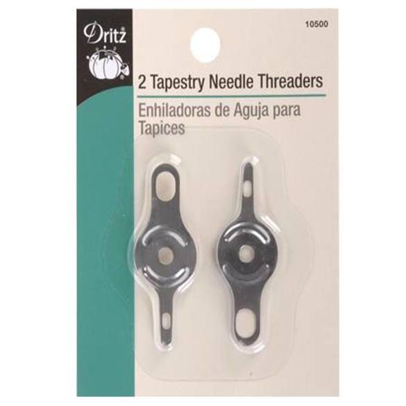 Tapestry Needle Threaders (2pk), Dritz