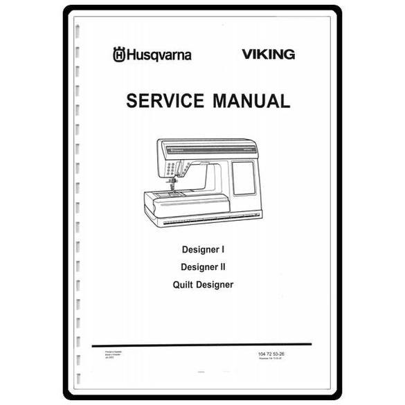 Service Manual, Viking Designer 1