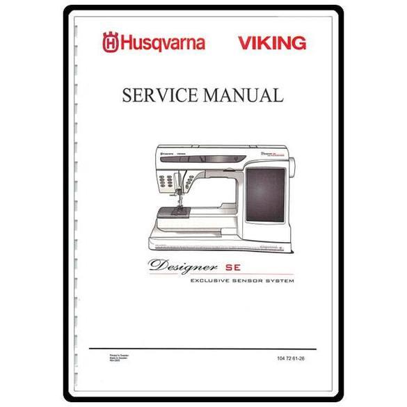 Service Manual, Viking Designer SE