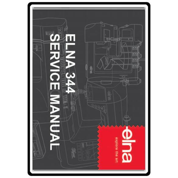 Service Manual, Elna 344