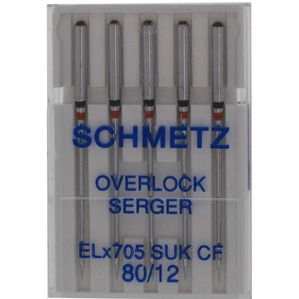 Schmetz Ball Point, Chrome Finish Needles