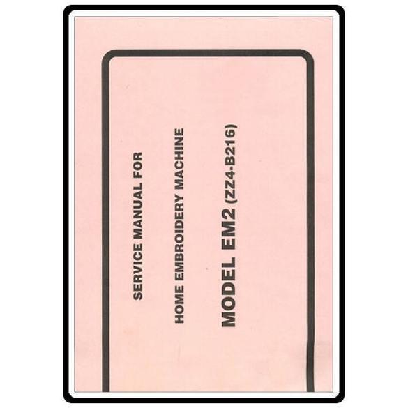 Service Manual, Babylock EM2 Espree