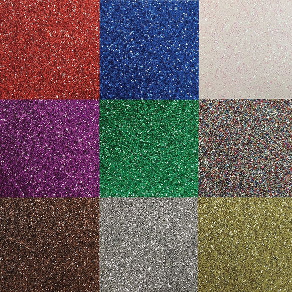 """Pre-cut Glitter Fabric 27"""" x 11-7/8"""""""