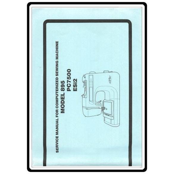 Service Manual, Babylock ESI2 Esante