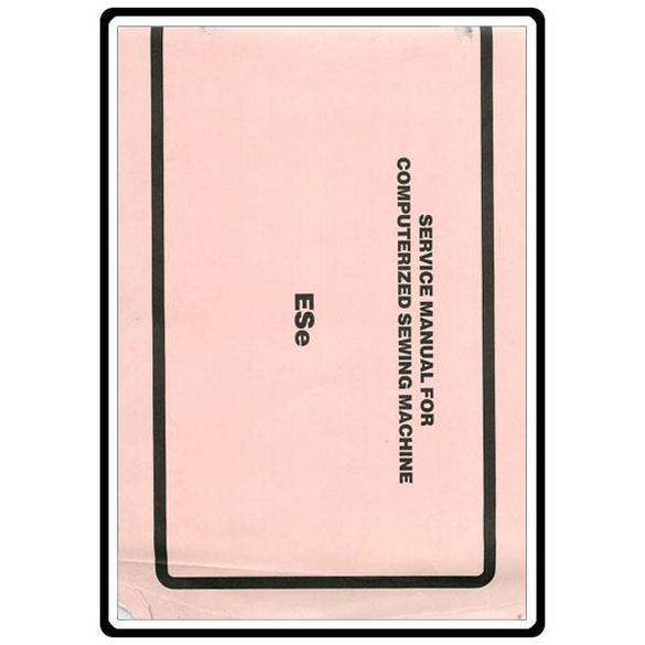 Service Manual, Babylock ESE Esante