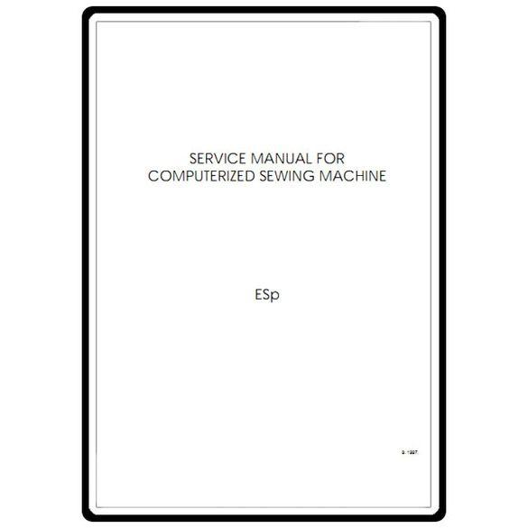Service Manual, Babylock ESP Espire