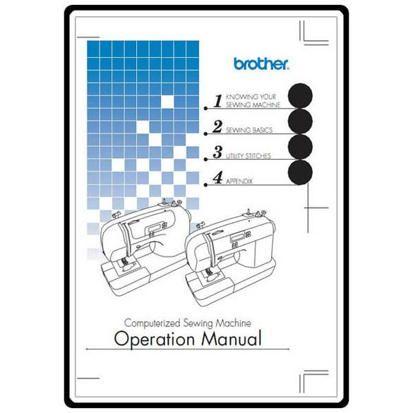 Service Manual, Brother EX660