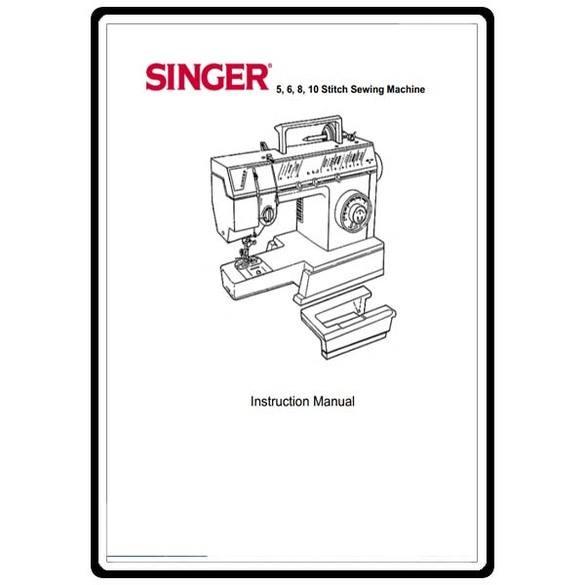 Instruction Manual, Singer FM17