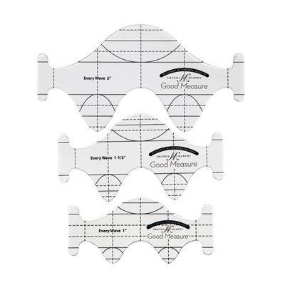 Good Measure, Wave Ruler Templates - 3 Piece