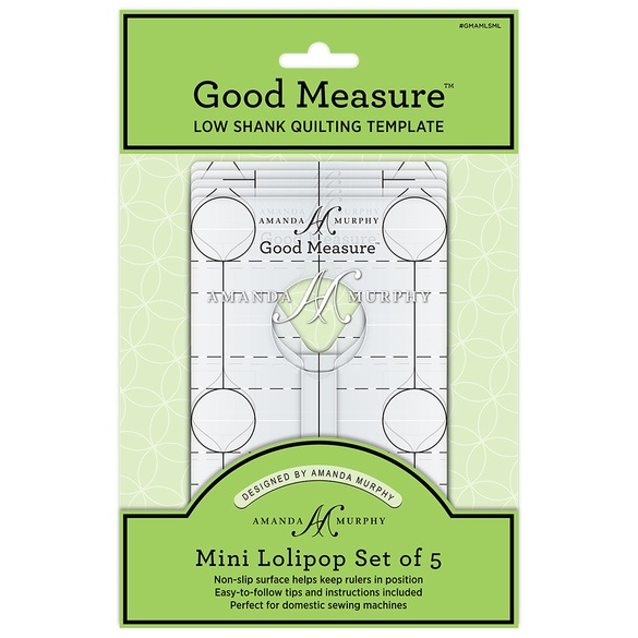 Good Measure Mini Lollipop Ruler 5pc