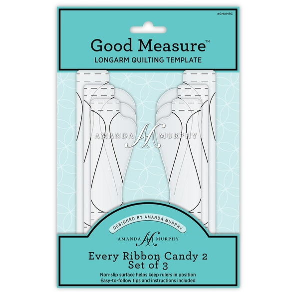 Good Measure Ribbon Candy 2 Ruler 3pc