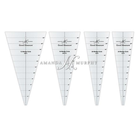 Good Measure Wedge Circle Rulers
