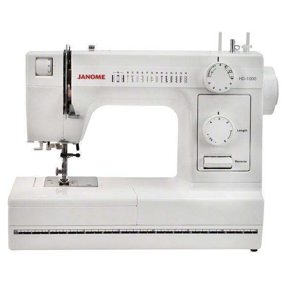 Janome HD1000 Heavy Duty Sewing Machine (14 Stitches)