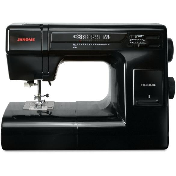 Janome HD3000 Black Edition Heavy Duty Sewing Machine