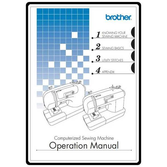 Instruction Manual, Brother CS-100T
