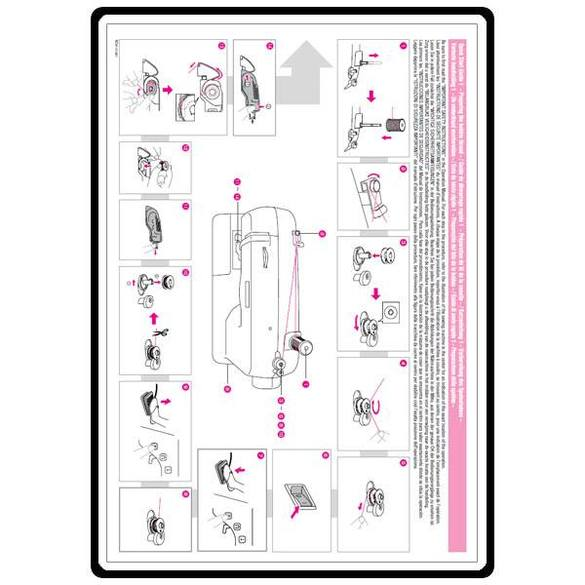 Instruction Manual, Brother CS-6000T