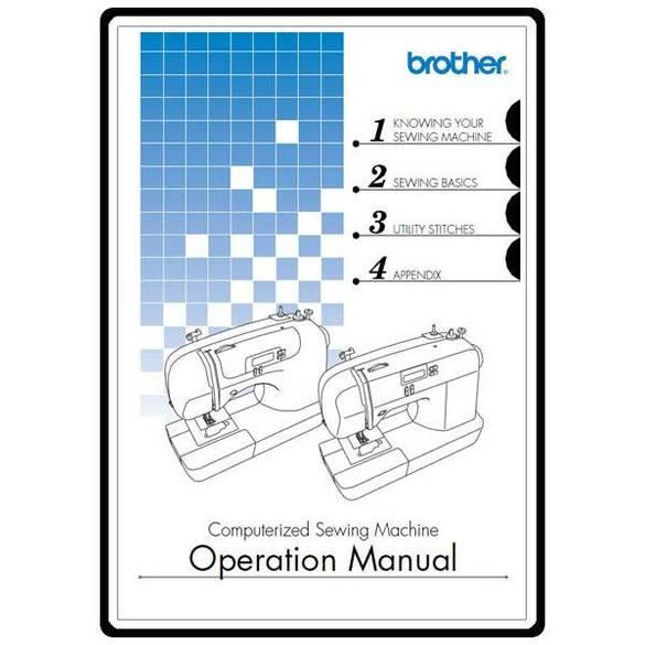 Instruction Manual, Brother CS-770