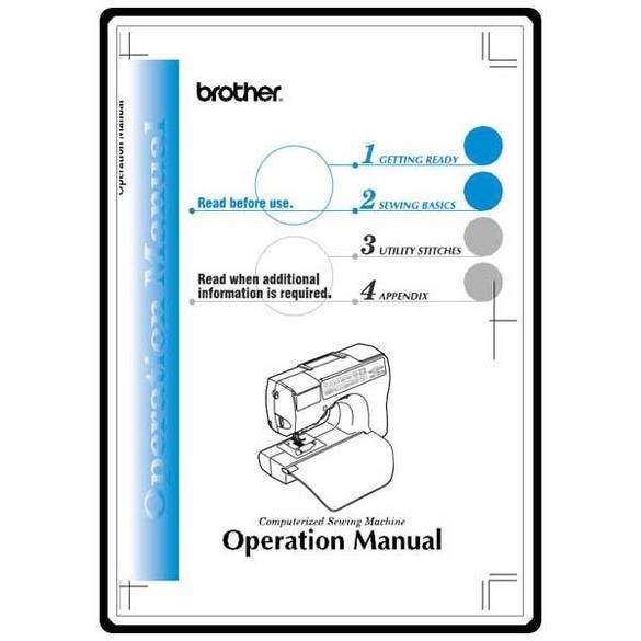 Instruction Manual, Brother CS-80