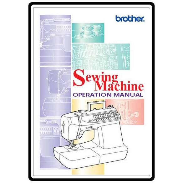 Instruction Manual, Brother CS-8072