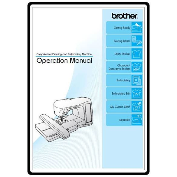 Instruction Manual, Brother 4500D Duetta