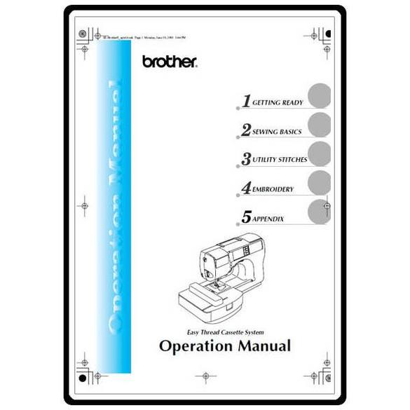 Instruction Manual, Brother HE-120