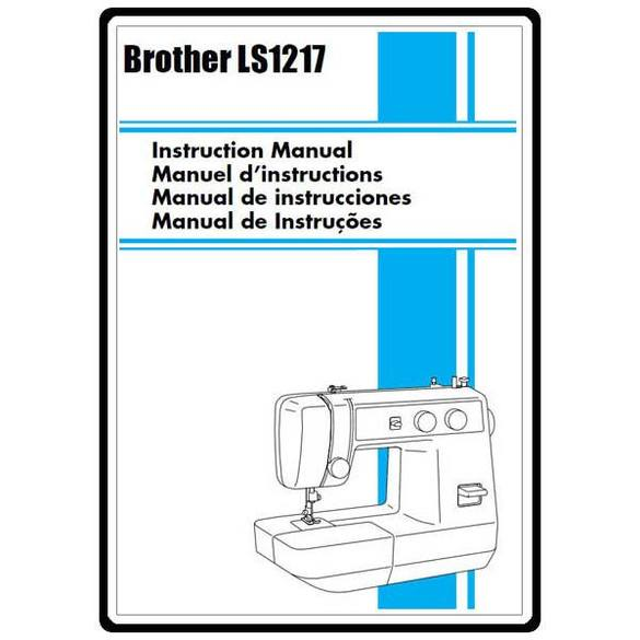 Instruction Manual, Brother LS-1217