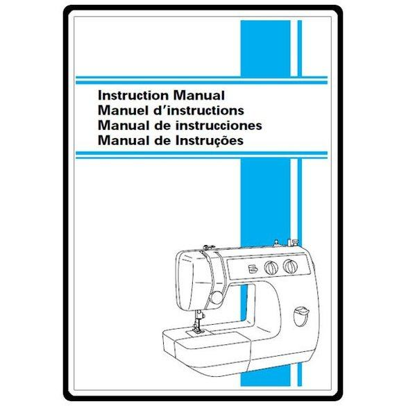 Instruction Manual, Brother LS-1717