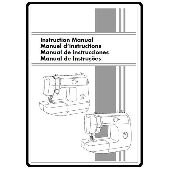Instruction Manual, Brother LS-2125