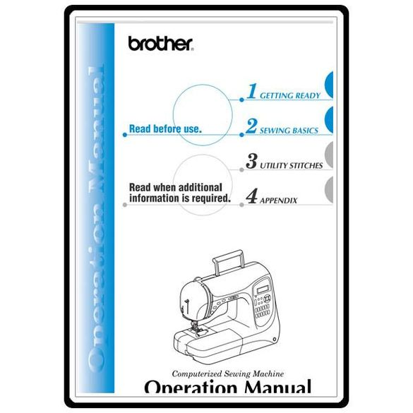 Instruction Manual, Brother NX-400