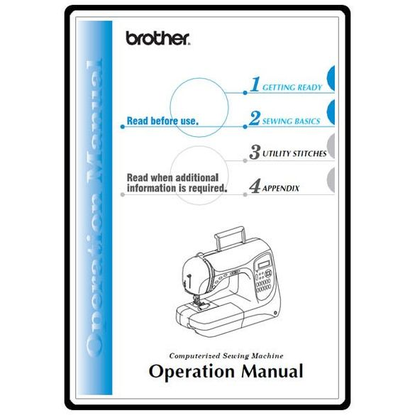 Instruction Manual, Brother NX-600