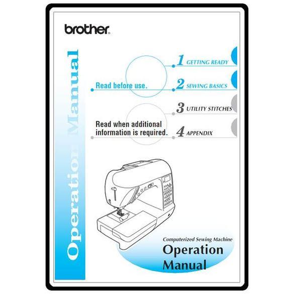 Instruction Manual, Brother NX-650Q
