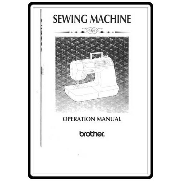 Instruction Manual, Brother PC-6000