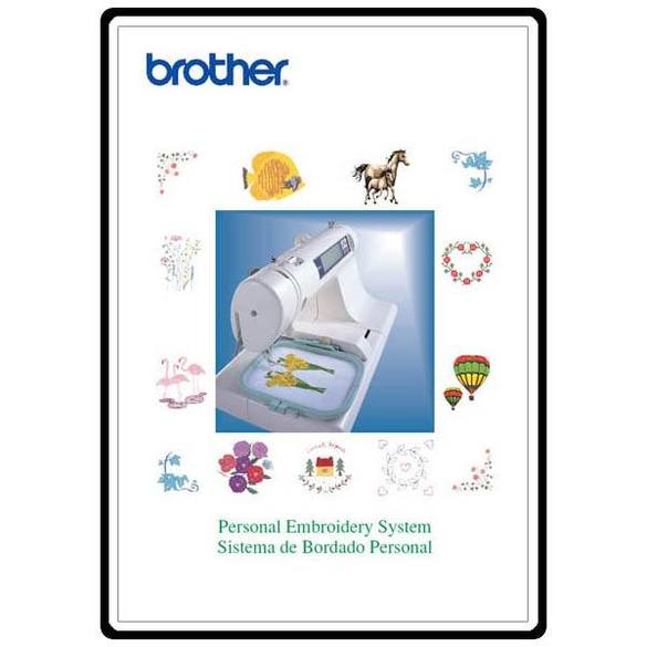 Instruction Manual, Brother PE-170D