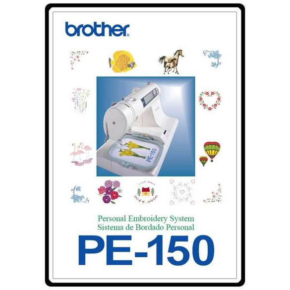Instruction Manual, Brother PE-200