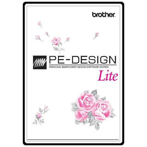 Instruction Manual, Brother PEDESIGN LITE
